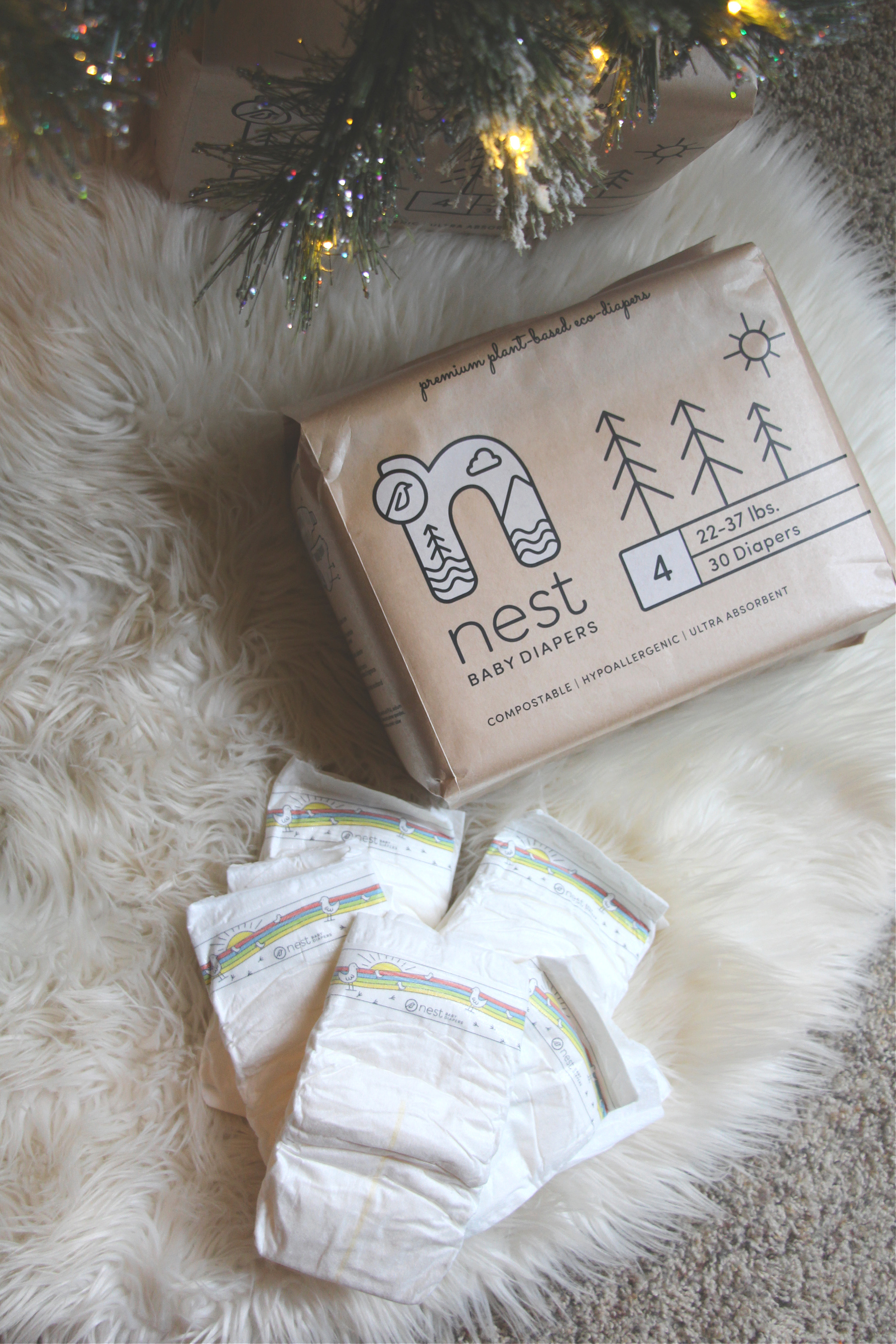 Say Hello To Nest Biodegradable & Compostable Diapers!