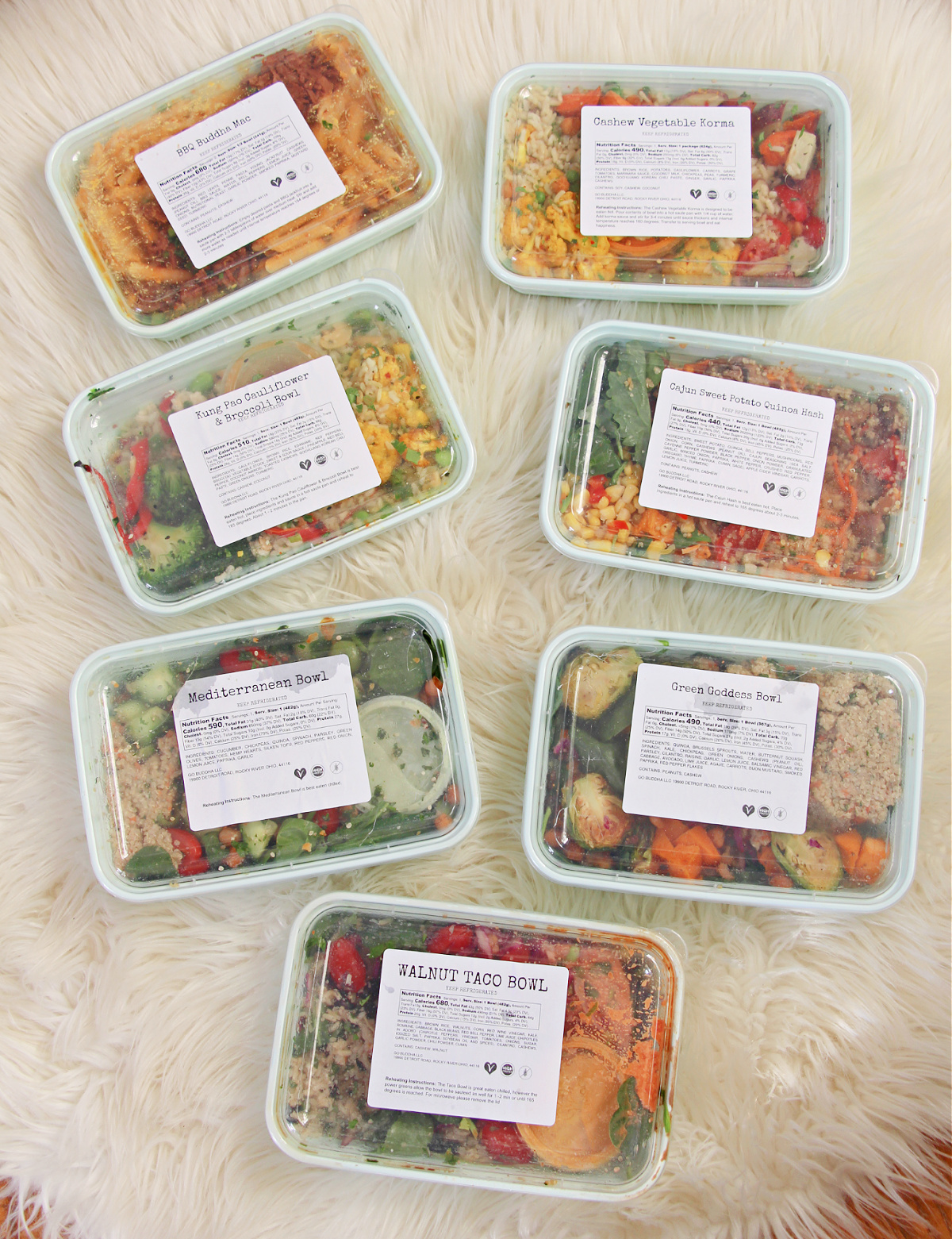 Plant Based Gluten Free Meals Delivered to Your Door