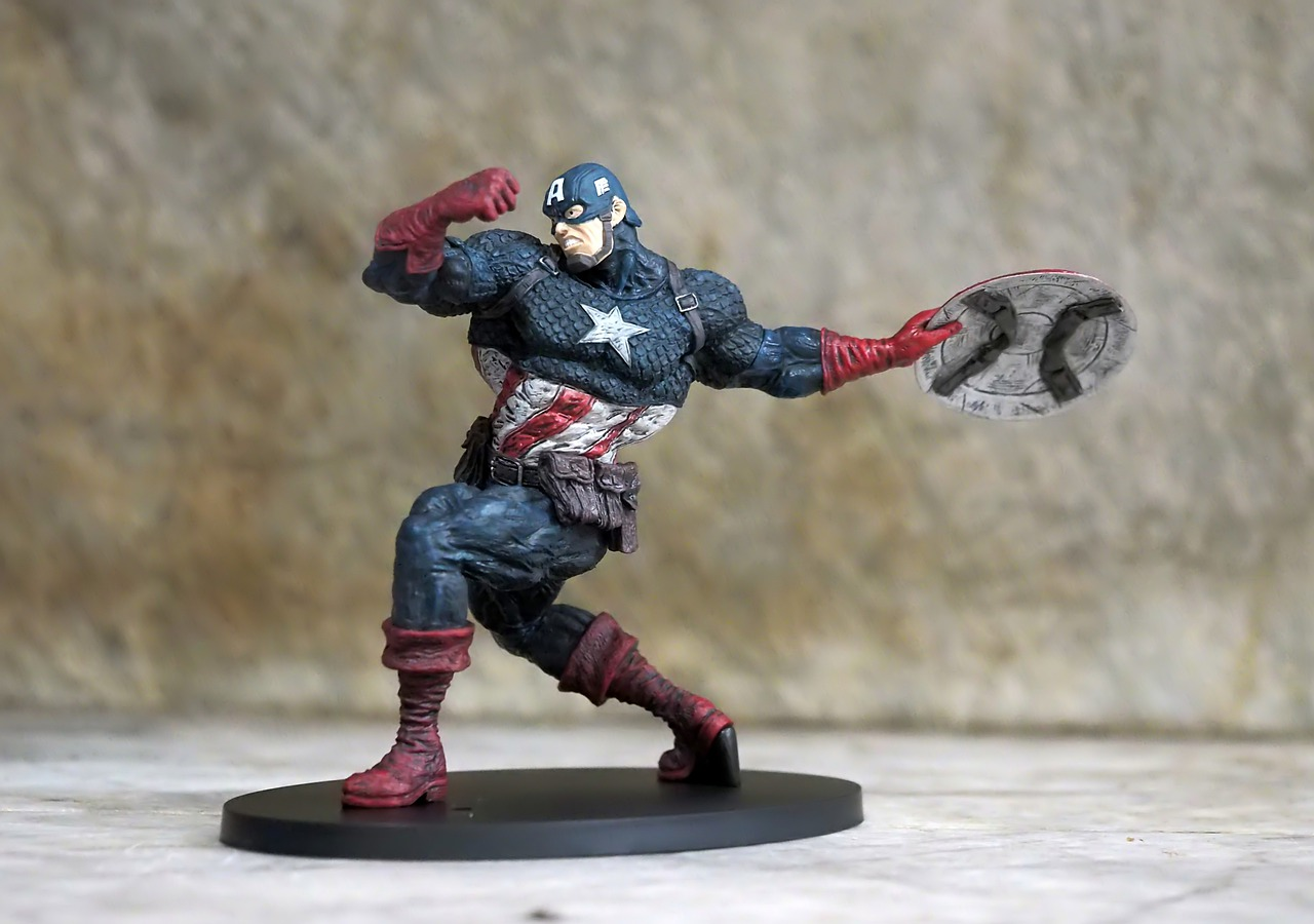 Get The Composite Look Of The Men Captain America Costume At Your Disposal