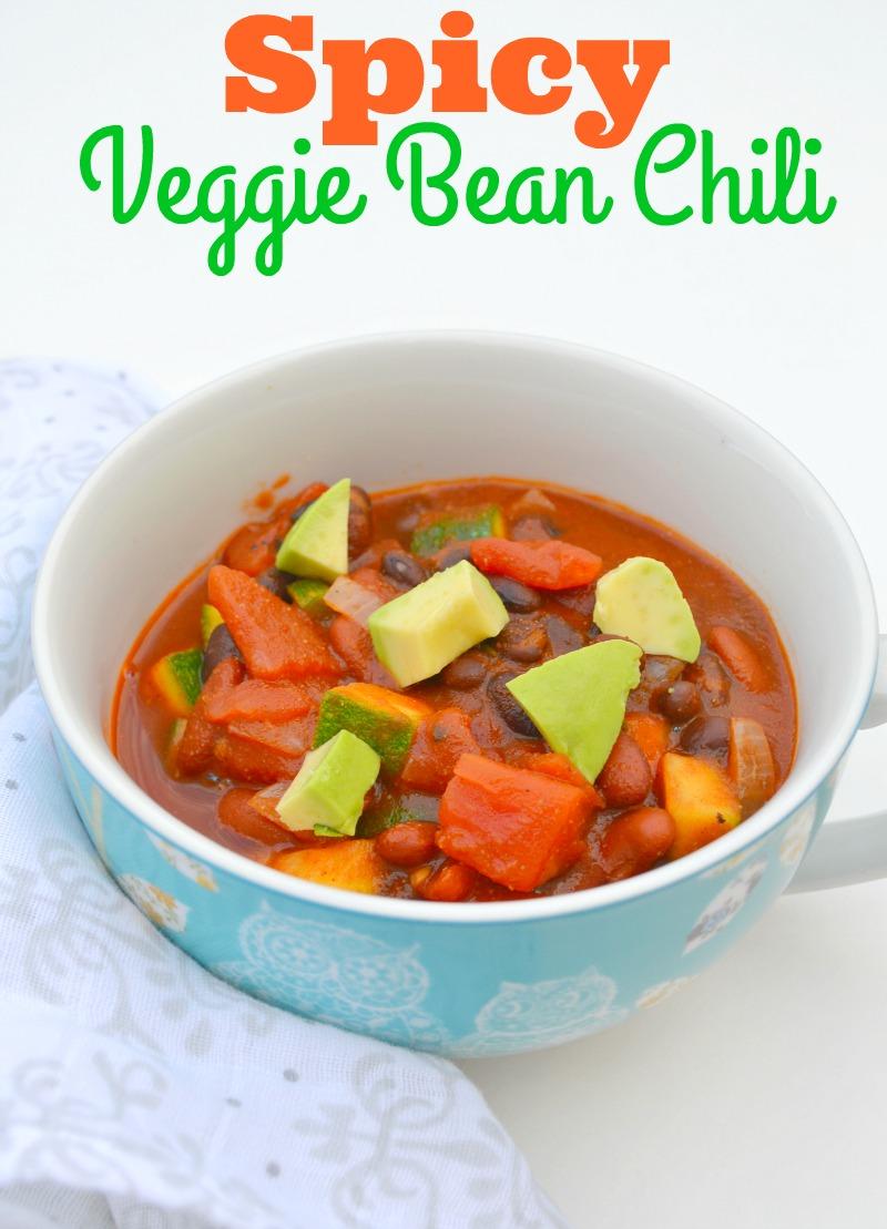 Spicy Veggie Bean Chili