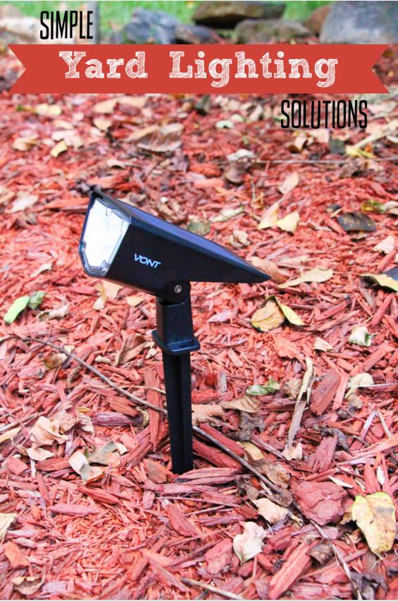 Simple Yard Lighting Solutions